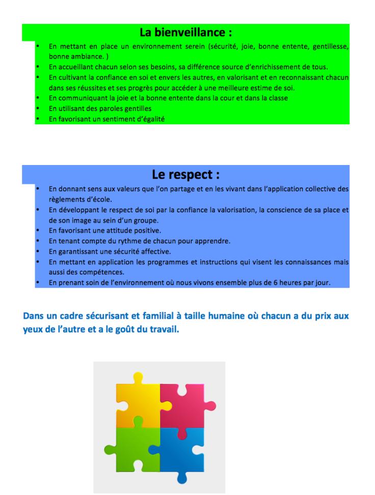 projet Educatif 2